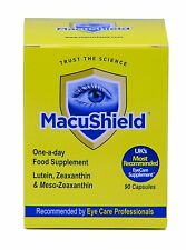Macushield With Meso-zeaxanthin For Macular Health 30 Capsules ONLY !!