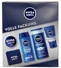 NIVEA Geschenkset Men 5-tlg mit Niveahandtuch