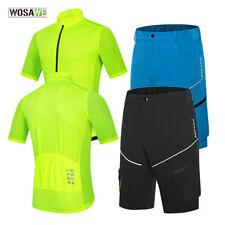 Летние велосипедные майки наборы мужской горный велосипед мешковатые шорты воздухопроницаемым верхним велосипед спортивная одежда