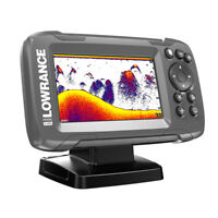 LOWRANCE HOOK² 4X  GPS BULLET FISHFINDER W/TRACK PLOTTER NO CHART 000-14014-001