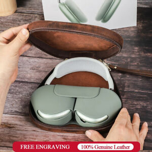 Retro Protector Cases for Apple Airpods Max Leather Protective Earphone Box Bags