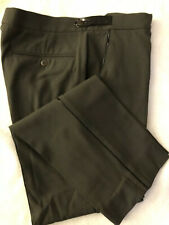 MENS VERSACE COUTURE VINTAGE WOOL GREEN TROUSERS sz50
