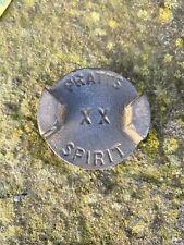 PRATTS SPIRIT XX BRASS 2 GALLON PETROL CAN CAP