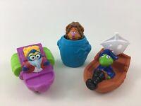 Muppets Treasure Island Bath Toys Float Happy Meal Jim Henson 1995 Lot McDonalds
