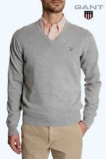 NWT $125 GANT RUGGER PREMIUM COTTON V-NECK SWEATER.SZ XL