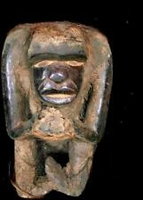 Old  Tribal Bulu Gorila Figure With Hair   --- Cameroon  BN 47