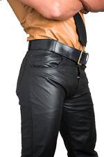 Pantalon cuir gay cuir jeans neuf noir pantalon cuir NEUF leather pants cuir