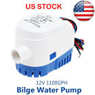 12V 1100GPH Automatic Bilge Pump Marine Boat RV Auto Submersible Water Pump US photo