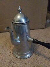 Vintage Danish Quality Pewter Coffee Pot