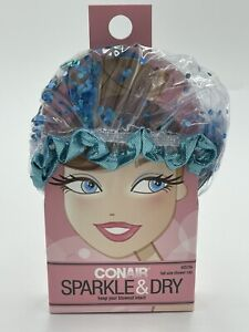 Conair Spankle & Dry Full Size Shower Cap Keep Your Blowout Intact