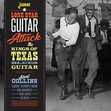 V.A.-LONE STAR GUITAR ATTACK THE KINGS OF TEXAS...-IMPORT CD WITH JAPAN OBI F30