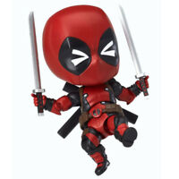 NEWEST 10cm Nendoroid 662 Marvel Cute Deadpool Orechan Edition Action Figure Toy