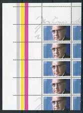 Bund BRD 1963 L postfrisch Bogenstück 4 x Abart mit Leerfeld Michel 1000 Euro