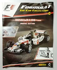 F1 Formula 1 Car Collection Magazine Issue 50 - HONDA RA106 2006 JENSON BUTTON