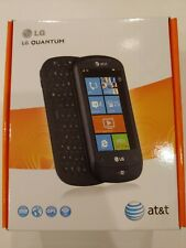 New LG Quantum Windows Smartphone (for AT&T-ONLY) in new unopened LG factory box