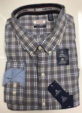 IZOD Men's Stretch Woven Non-Iron Long Sleeve Shirt - Size: XXL              K-3