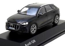 wonderful PR-modelcar AUDI Q8 2018 - black metallic - scale 1/43