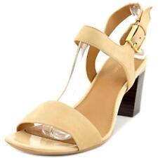Sandalias y chanclas de mujer Calvin Klein de tacón medio (2,5-7,5 cm) de color principal crema