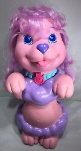 """Vintage Hasbro Shampoodle Bath Toy 12"""" Poodle Dog 1991"""