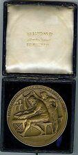 1913 British Award Bronze Medal Birmingham Photographic Society 80 mm BOX / 137