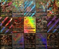 50 Pokemon Cards Ultimate Pack 1 GX/V ULTRA RARE 9 Rares/shiny FAST DISPATCH