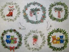 Rice Paper for Decoupage Scrapbook Craft Christmas Wreath 265