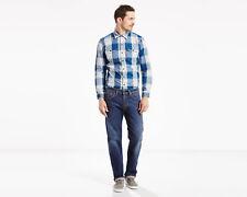 NWT! Levi's® 505 Regular Fit Straight Leg Stretch Denim Jeans 36x29 Hawker-1455