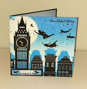 Once Upon a Twilight 'Neverland Peter Pan, Wendy & Tinkerbell' Birthday Card