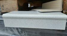 Balkonrandplatten, Längsschenkel, Winkelfliesen Tellur 24,5x10,5x5,2x0,8cm Rest