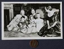 1956 Dwight D.Eisenhower for President family real photo postcard w/Ike message!
