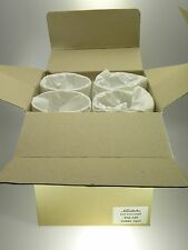 Noritake Crystal Palais Goblets Set of 4 NEW IN BOX