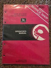John Deere 3940 and 3960 Forage Harvesters Operator's Manual