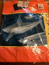 Mako101  Saltwater Fishing T Shirts - 100% Cotton Jersey Size XL Color Coral
