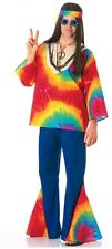 Psychedelic Sam Hippie Woodstock Costume for Men New by Rubies 15185