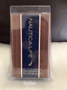 Nautica Life Eau De Toilette Spray 1.7 oz For Men SEALED & NEW WITH BOX