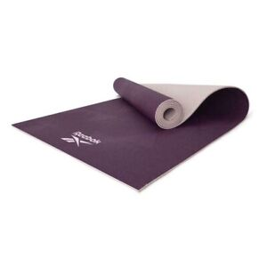 Reebok Geometric Yoga Mat Exercise Training Gym Fitness Workout with Carry Strap