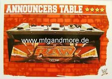 Slam Attax Mayhem #201 Announcers Table