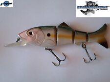 "Leurre articulé Revolution Shad 7"" REACTION STRIKE 18cm 76g pêche brochet silure"