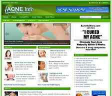 Acne Info Complete Turnkey Website For Sale Ready To Run Online Business