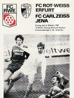 OL 87/88  FC Rot-Weiß Erfurt - FC Carl Zeiss Jena