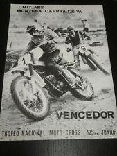 MONTESA CAPPRA 125 VA - MOTORCYCLE MOTO - AD PUBLICITE ANUNCIO - SPANISH - 1945