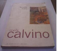 INVISIBLE CITIES Italo Calvino Harvest Book libro in inglese