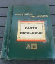 VAUXHALL HC 1971 ON PARTS CATALOGUE  93000 SERIES WITH FULL PART NUMBER LISTING