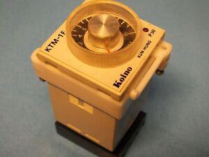 Koino  (KUN HUN ELECTRIC)  KTM-1F    0-10 min   TIMER  RELAY