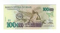 100 Cruzeiros Reais Brasilien 1993 C235 / P.238 UNC