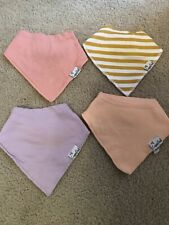 Copper Pearl Bandana Bib Sweetheart Set