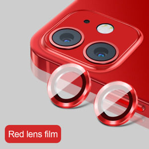 Metal Ring Tempered Glass Protective Cap For iPhone 13 12 11 Pro Max Camera Lens