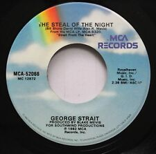 Country 45 George Strait - The Steal Of The Night / Fool Hearted Memory On Mca R