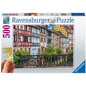 Ravensburger 500 Piece Jigsaw Puzzle Colmar, France Extra Large Pieces