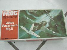 Frog Vultee Vengeance Mk. 2 1/72 scale Airplane Red Series Ww2 Model kit